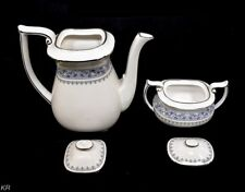 Spode English China Firenze Floral Tea Pot+ Sugar