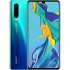 Huawei P30 lite 128 GB, 4 GB RAM Dual Sim Peacock Blue. Smartphone Grado A