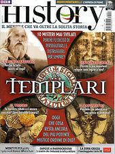 BBC HISTORY ITALIA COLLECTION=N° 59 3/2016=I TEMPLARI=BR=MONTANELLI=