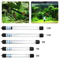 Submersible-Aquarium-Pond Fish Tank Light UV Sterilizer Water Clean Lamp Accs CY