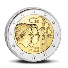 PREVENTE Coincard 2 Euros Commémorative Belgique Union Economique 2021