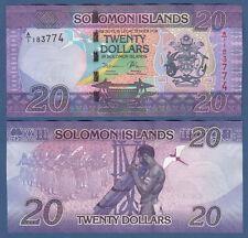 SOLOMON ISLANDS 20 Dollars (2017) UNC  P.New
