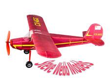 1 x VINTAGE MODEL Company Balsa Laser Cut Flying AEROPLANE CESSNA 140 Model Kit
