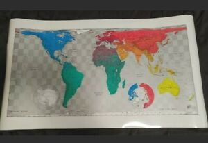 Magnetic Map Future Mapping Company A Cylindrical Equal Area Projection Version3