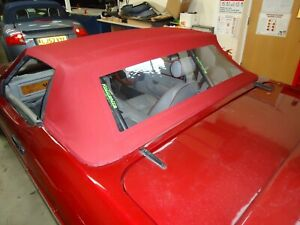 TVR Griffith - Mohair Hood With Plastic Rear Window