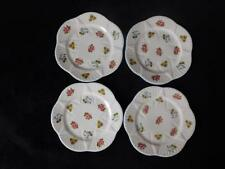 VINTAGE SHELLEY PATTERN No 13424 ~ SET OF FOUR SMALL CAKE PLATES ~ DAINTY SHAPE