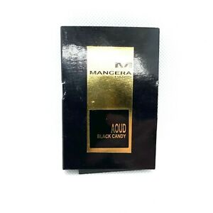 Mancera Aoud Black Candy 0,07 fl oz / 2 ml Spray Eau de Parfum Unisex