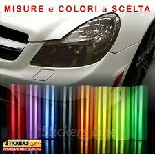 Pellicola adesiva colorata oscurante per vetri fanali fari luci auto moto camper