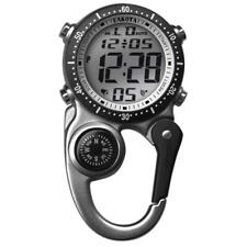 Digiclip Digital Watch Light-Up Silver Compass Carabiner Clip Dakota30872