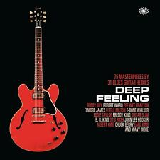DEEP FEELING - MASTERPIECES BY BLUES GUITAR HEROES - V/A 3CDs (New & Sealed)