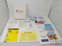 Davidson Reader Rabbit Math Blaster Apple II IIc Software Books Game Box VTG 80s