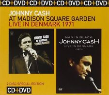 Johnny Cash - At Madison Square Garden/Live in Denmark (2008) CD+DVD  NEW/SEALED
