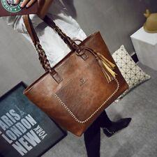 Women Large Capacity Shoulder Tote  Bags Bolsos Messenger Bags With Tassel Hand