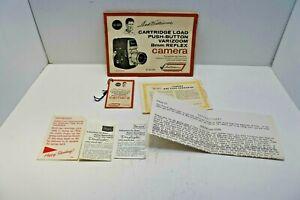 Sears Varizoom Ted Williams Manual And Hangtag