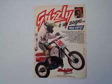 advertising Pubblicità 1990 MALAGUTI GRIZZLY 50