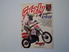 advertising Pubblicità 1990 MALAGUTI GRIZZLY 50