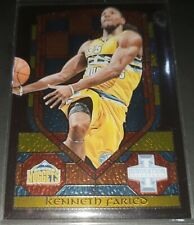Kenneth Faried 2013-14 Panini Innovation STAINED GLASS GOLD PARALLEL Insert Card