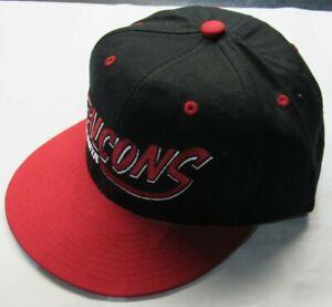 NWT NFL Team Apparel Baseball Hat - Atlanta Falcons Plastic Snapback Closure