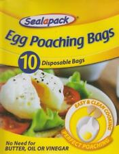 Sealapack Pack Of 10 Disposable Egg Poaching Bags