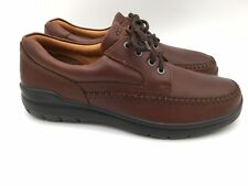 ECCO Vegetable Tanned Casual Mens Comfort Oxford Shoes Size EUR 44/ US 10 - 10.5