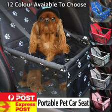 Cat Dog Pet Booster Car Seat Bag Waterproof Portable Breathable Solid Durable