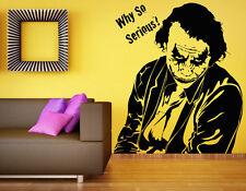 Joker Wall Vinyl Decal Supervillain DC Comics Hero Sticker Atr Home Decor (4b2j)