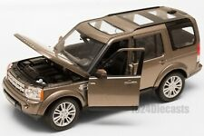 Land Rover Discovery 4 Metallic Brown, Welly 24008, scale 1:24, model gift