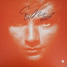 ED SHEERAN Signed 12x8 Album Cover SHAPE OF YOU COA