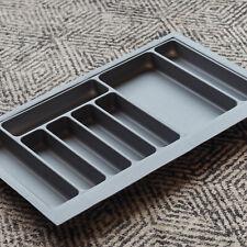 Grey Textured Cutlery Tray for 800mm Drawer | Blum Metabox | Kitchen Storage