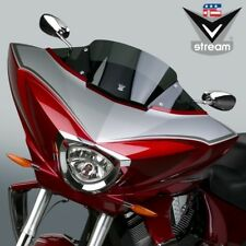 National Cycle Vstream DARK TINT LOW Windshield - Victory Cross Country _N20702