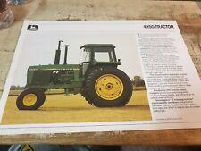 1987 JOHN DEERE 4250 Tractors Original Australian  Sales Leaflet