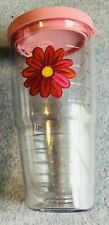 Tervis Tumbler, 24 ounce, Flower with Pink Lid