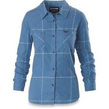 New 2018 Dakine Womens Ellis Lighweight Flannel L/S Shirt Medium Horizon