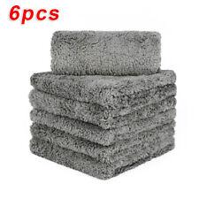 6pcs Microfiber Cleaning Cloth Towel No-Scratch Rag Car Polishing Detailing