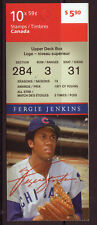 CANADA 2011 FERGIE JENKINS BOOKLET UNMOUNTED MINT