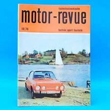 DDR Motor-Revue 10-1976  (tschechoslowakische) Skoda Jawa CZ Tatra II