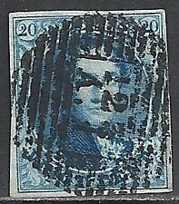 Belgium stamps 123A.1 on OBP 7  VF