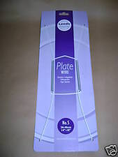 """New Plate Hanger Plastic Coated Wire Plate Size 14"""" to 18"""""""