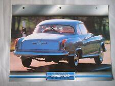 Borgward Isabelle Coupe Dream Cars Card
