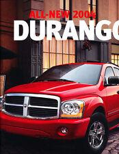 2004 Dodge Durango Deluxe Sales Brochure Catalog