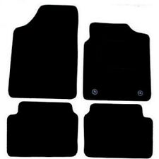 Hyundai i10 up to 2009 Black Tailored Fitted Car Mats Free Coloured Edging