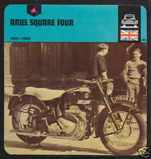 1931-1959 ARIEL SQUARE FOUR Motorcycle Picture CARD