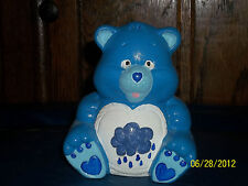 CERAMIC CARE BEAR CAREBEAR GRUMPY BEARS STATUE FIGURINE