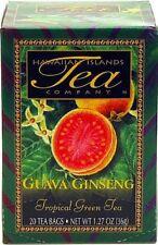 HAWAIIAN GUAVA GINSENG GREEN TEA ~ 6 BOXES