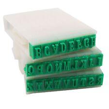 New Uk Detachable 26-Letters English Alphabet Plastic Stamp Set DT
