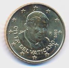 Vatikan 2012 Euro-Kursmünze 50 Cent Papst Benedikt XVI unz.-bankfrisch