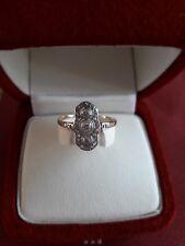Diamant Ring Art Deco Diamant Platinum Hochzeit Verlobungsring Antique Edwardian