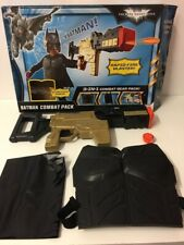 Batman Dark Knight Rises Combat Pack Gun Blaster Costume Mattel Toys Boxed
