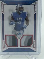 KENNY GOLLADAY 2017 National Treasures 4 Color Dual Patch RED SSP #11/19 LIONS