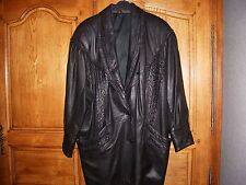 veste en cuir taille 46